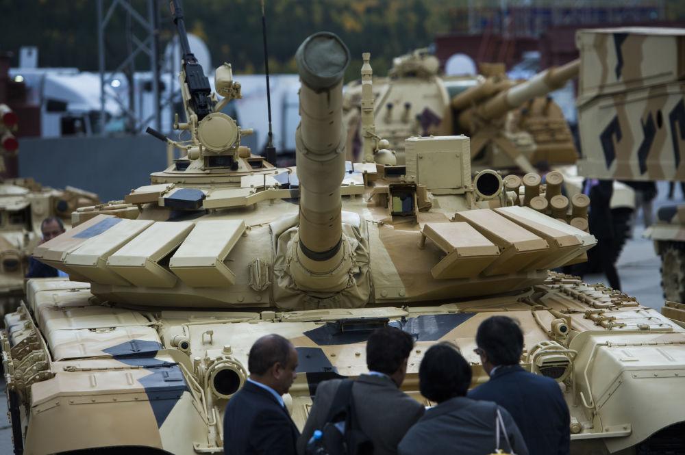 Nijni Taguil accueille le salon de l'armement russe