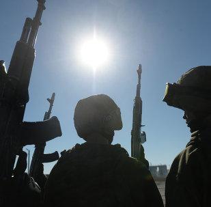 Les militaires russes