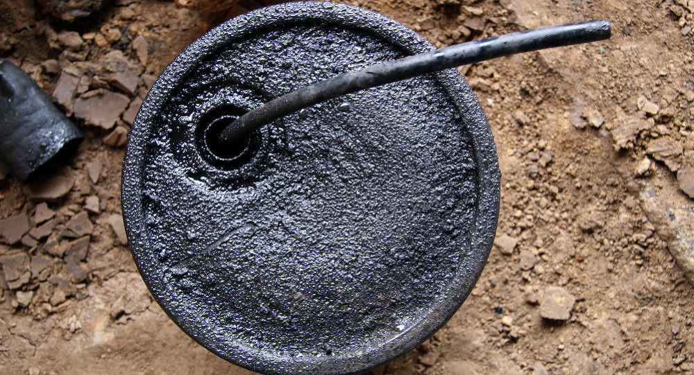 Un baril de pétrole