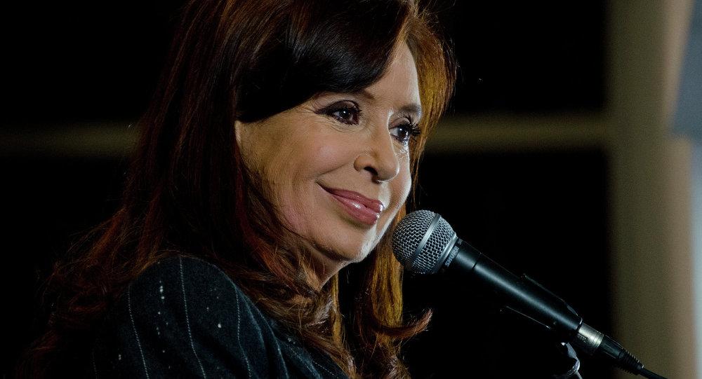 La présidente argentine Cristina Fernandez de Kirchner