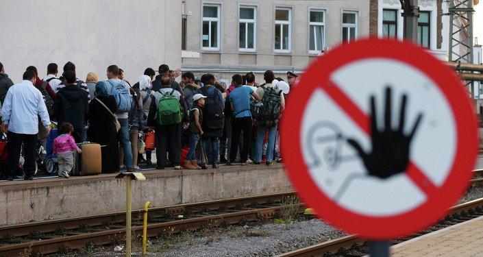 Slovénie suspend le trafic ferroviaire avec la Croatie. Image d'illustration