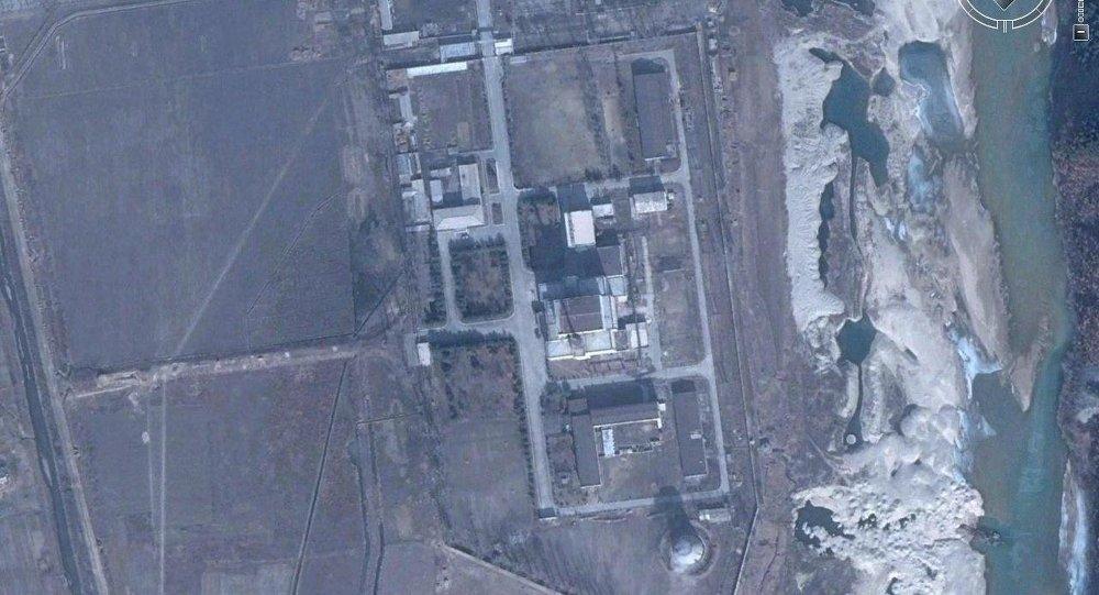 Corée du Nord, Yongbyon installation nucléaire, réacteur principal