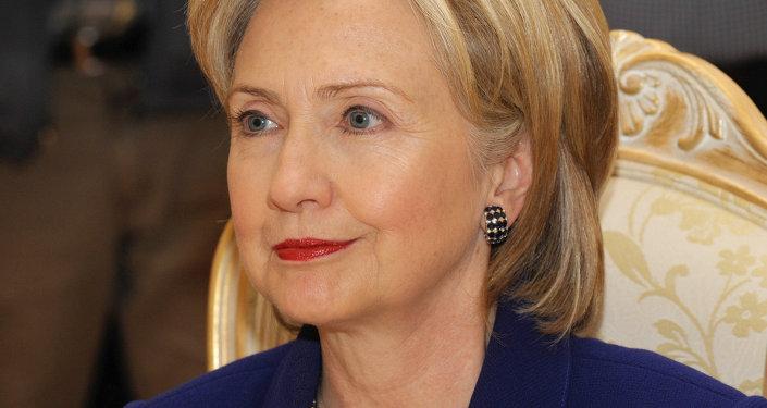 La secrétaire d'Etat américaine Hillary Clinton