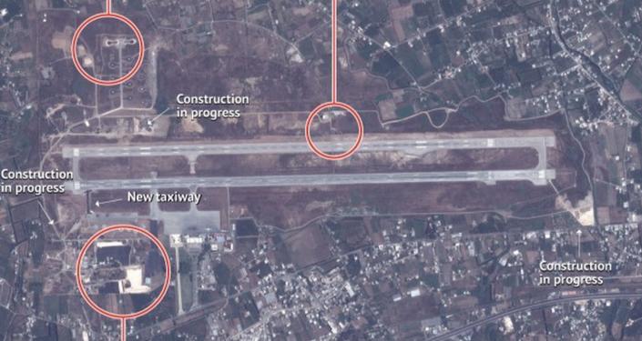Images prises par satellite du groupe américain Stratfor