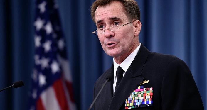 porte-parole du service de presse du département d'Etat des Etats-Unis, John Kirby