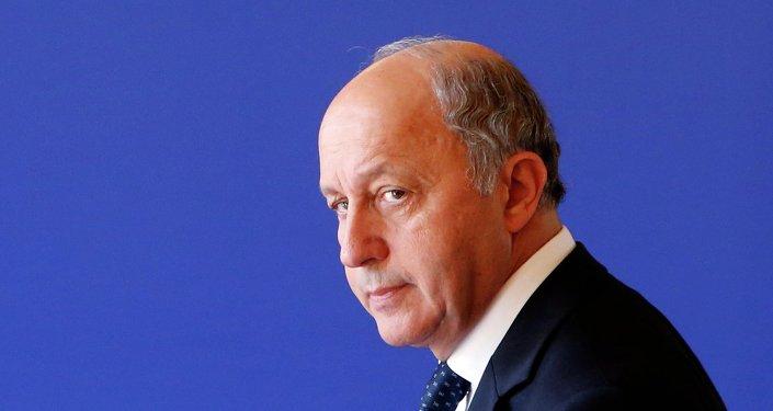 Ministre français des Affaires étrangères Laurent Fabius. Archive photo