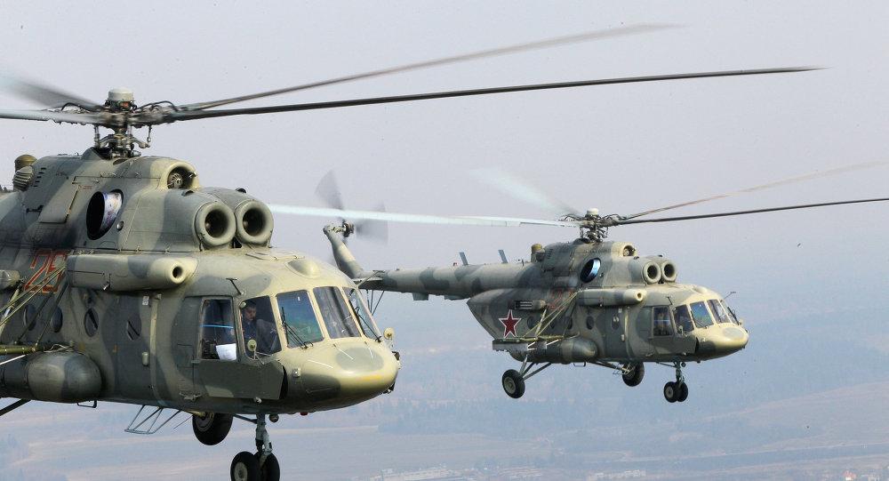 Les hélicoptères russes Mi-17