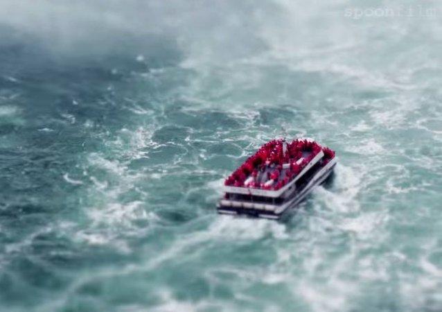 Les nano-chutes du Niagara