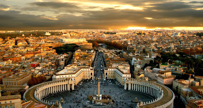 A view of the Vatican