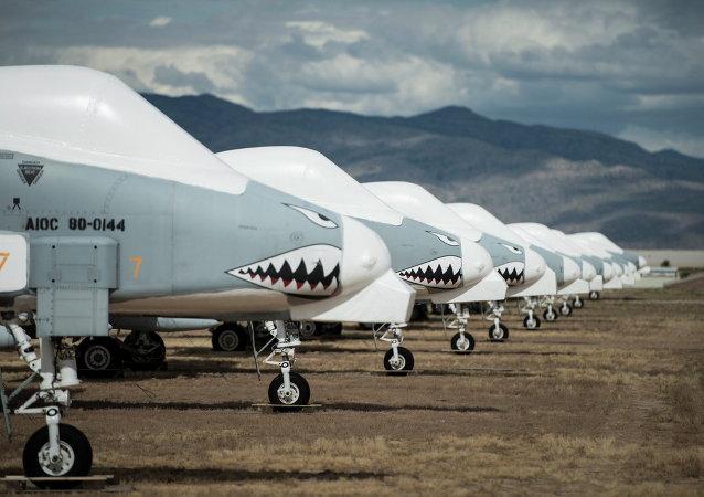 Une escadrille de chassseurs A-10 Thunderbolt II