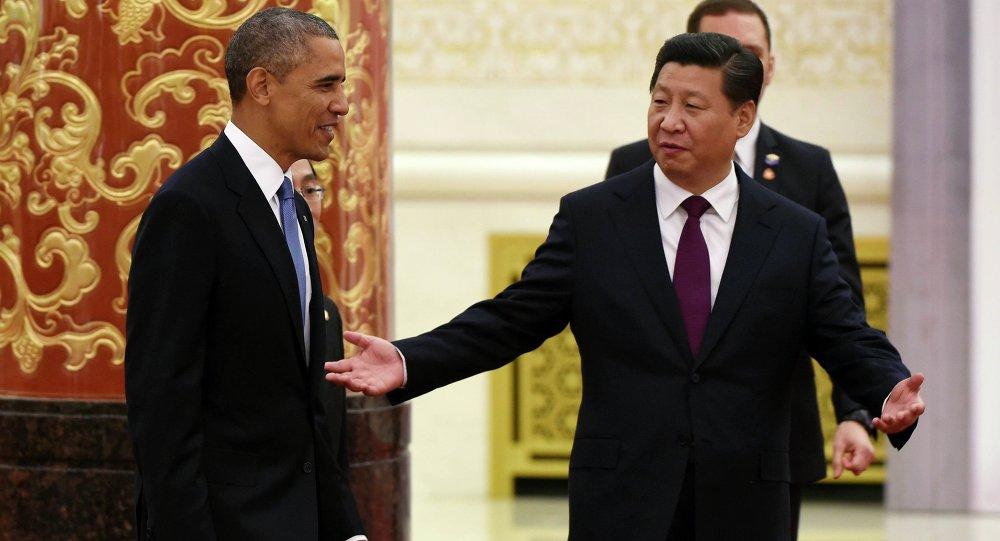 Xi Jinping, président chinois, et Barack Obama, président américain