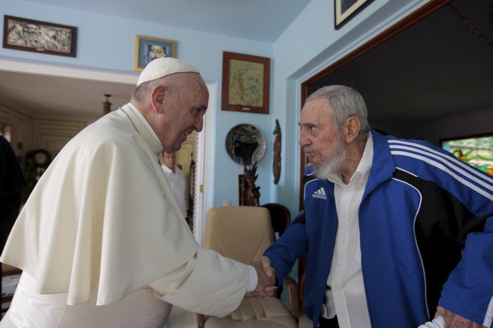 La visite du pape François Ier à Cuba