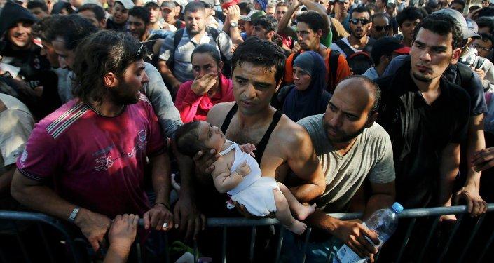 Migrants en Croatie