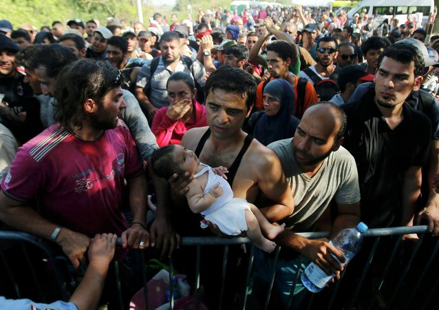 Migrants en Croatie