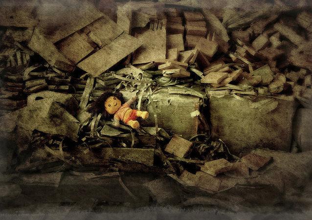 Poupée abandonnée