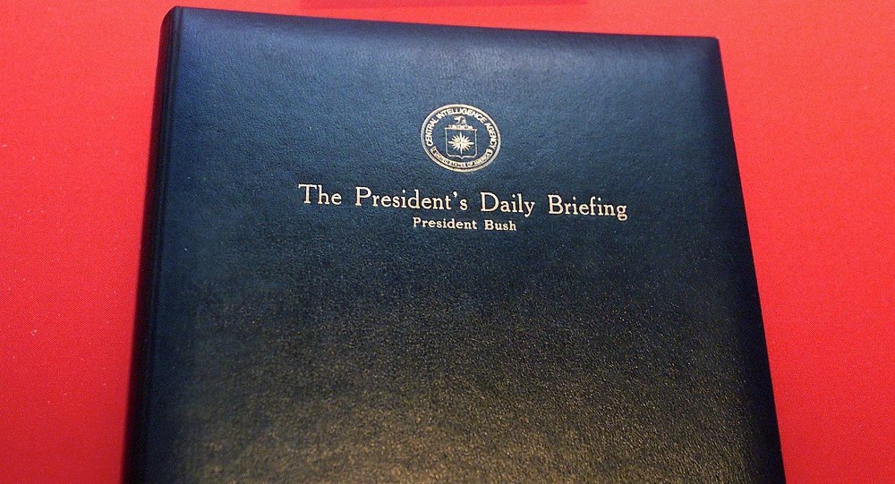 President's Daily Brief