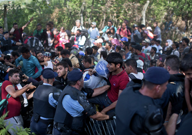 Migrants, Croatie