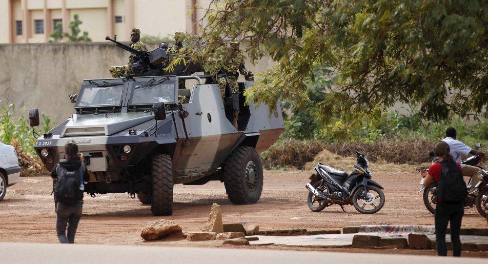 Situation à Ouagadougou, Burkina Faso, Septembre 20, 2015.