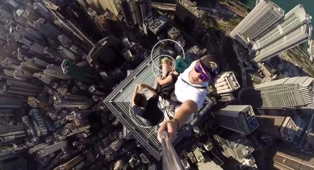 Selfie (Hong Kong Gratte-ciel)