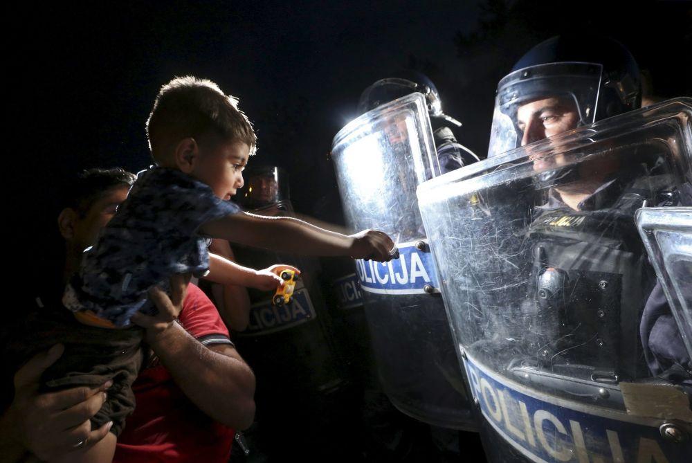 Crise migratoire : à la frontière entre la Croatie et la Slovénie