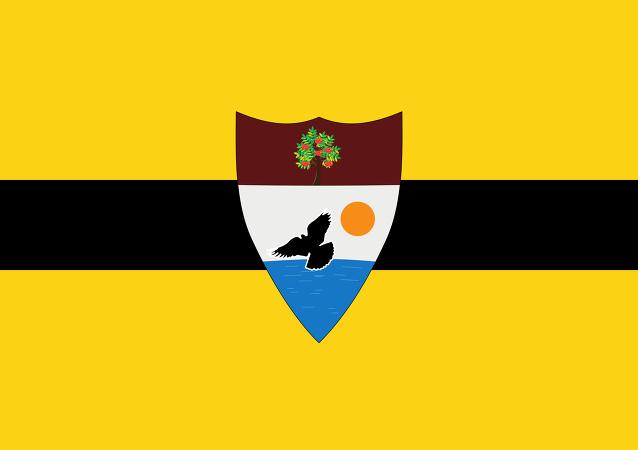Le drapeaux de Liberland