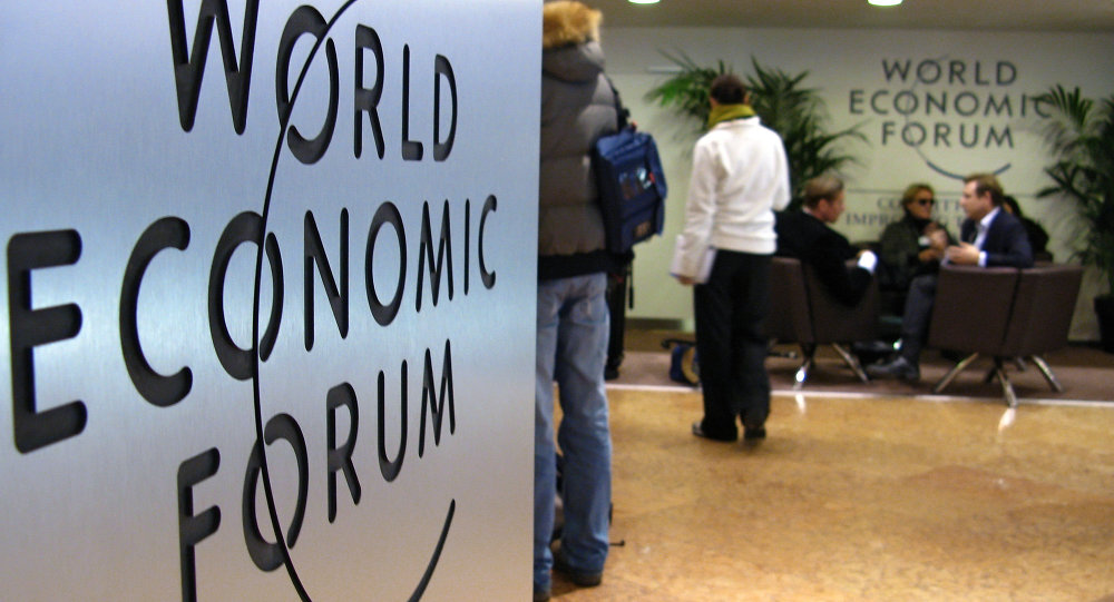 forum économique mondial à Davos