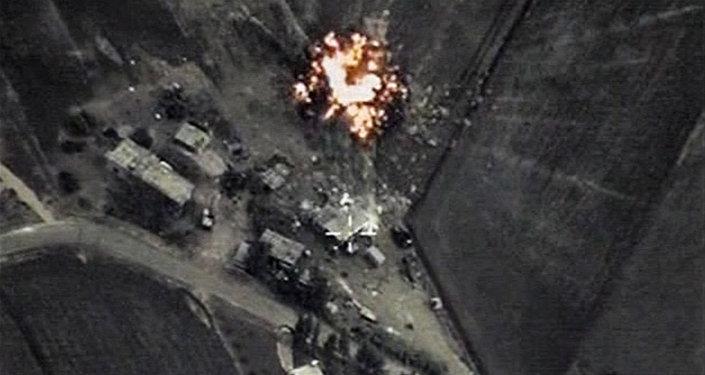 Frappes aériennes russes en Syrie