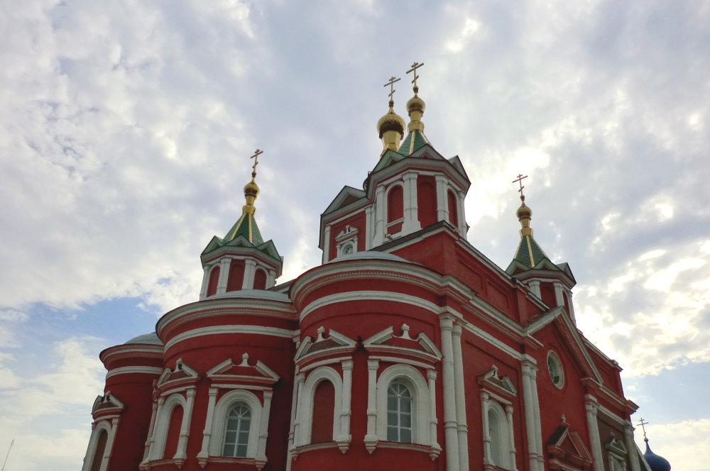 La Cathédrale de l'Exaltation de la Sainte Croix du couvent de Dormition de Brussensk
