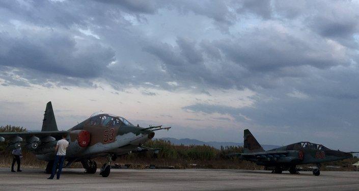 Su-25. Lattaquié. Syrie.