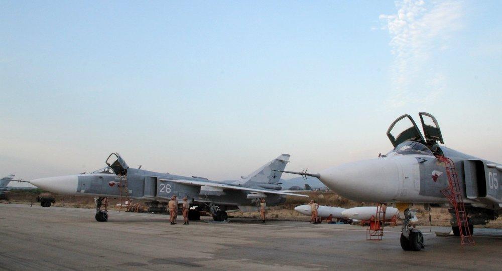 Su-24 russes. Lattaquié. Syrie.