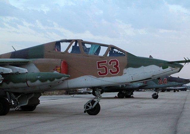 Avions militaires russes à Lattaquié
