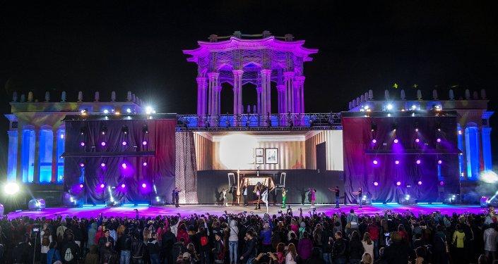 Le Festival international Cercle de lumière à Moscou