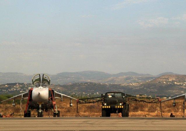 SU-24 russe. Lattaqué. Syrie