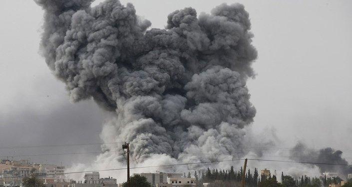 les frappes en Syrie