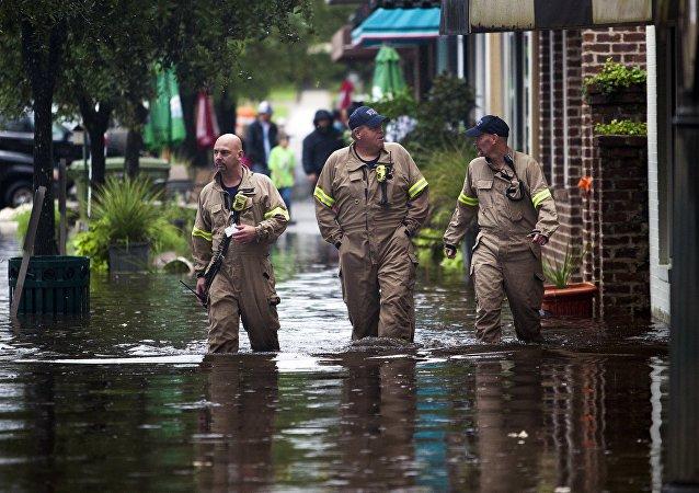 Des pluies diluviennes se sont abattues sur la Caroline du Sud