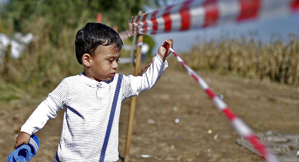 enfant des migrants