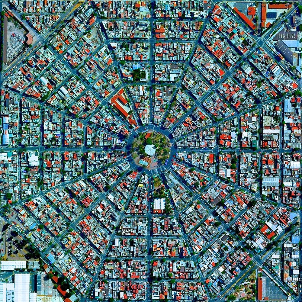 La Plaza Del Ejecutivo à Mexico, Mexique