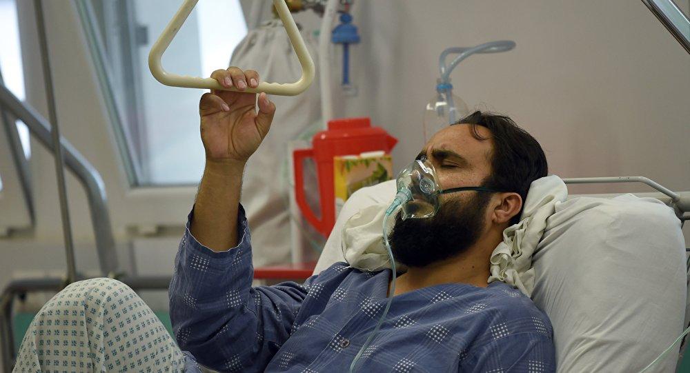 Kabul. Un survivant blessé pendant le bombardement de l'hôpital de MSF à Kunduz en Afghanistan