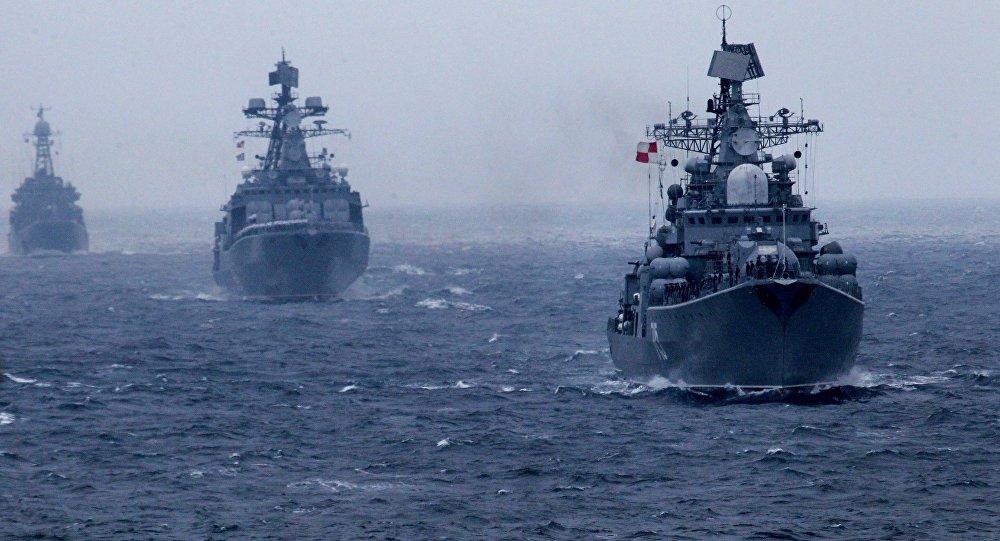 Des navires de la Marine russe