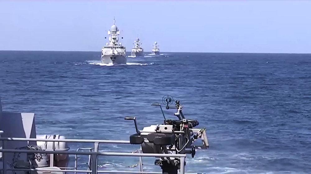 Des missiles russes tirés depuis la mer Caspienne frappent les terroristes en Syrie