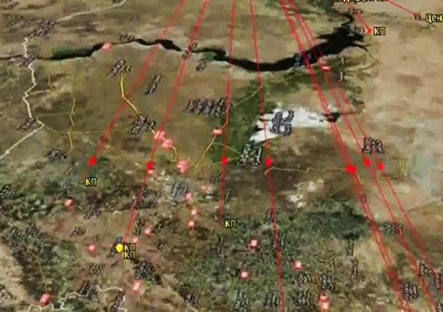 La Flottille russe de la Caspienne attaque l'EI en Syrie