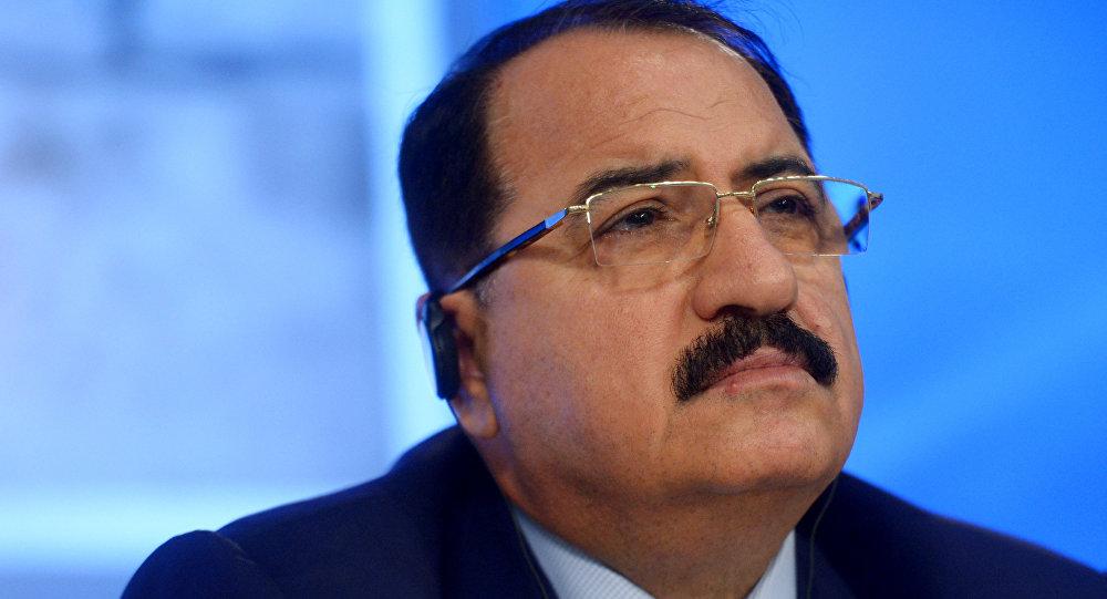Ambassadeur extraordinaire et plénipotentiaire de la République arabe syrienne à Moscou, Riad Mohammad Haddad