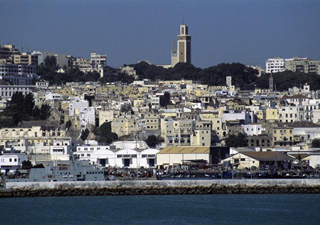Une vue de Tanger