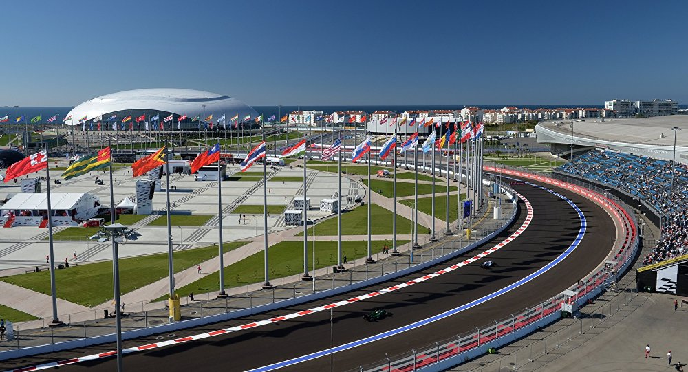 Circuit automobile de Sotchi