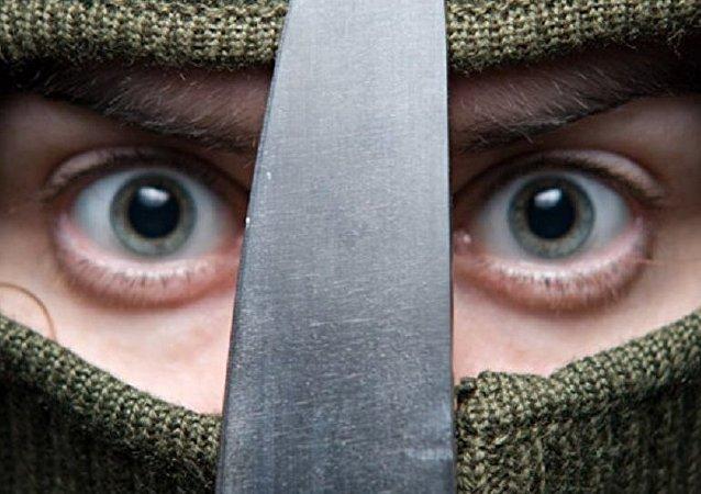 Le nouveau visage du terrorisme. Image d'illustration