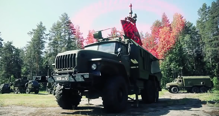 Сomplexe mobile de guerre électronique Krassoukha-4