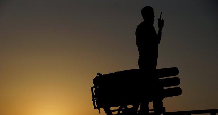 Combattant de l'Armée syrienne libre (ASL)