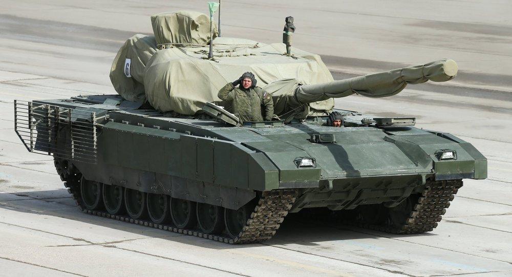 Test drive du char armata un regard de l 39 int rieur video for L interieur du char de vimoutier