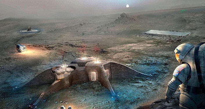 Des maisons pour les colonisateurs de la Planète rouge