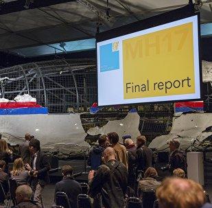 La commission néerlandaise présente son rapport sur le crash du vol MH17